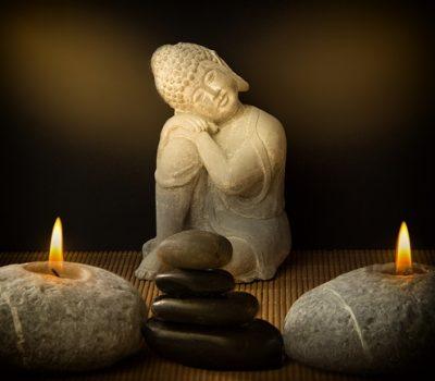 Das Bild zeigt einen Buddha. - Meine Vorgehensweise.